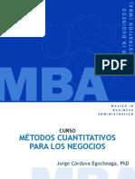 Tablas y Gráficos MBA