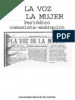 La Voz de la Mujer (Ed. UNQuilmes).pdf