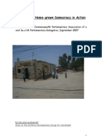 Somaliland Visit Report Final
