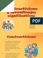 Constructivismo y Aprendizajes Significativos 8736
