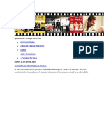 Aprendiendo Psicología Con El Cine