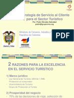 Servicio Al Cliente en El Sector Turistico