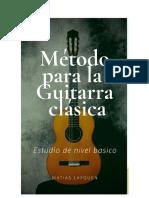 Método de Guitarra por y para matias.