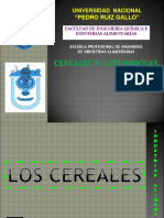 Cereales y Leguminosas