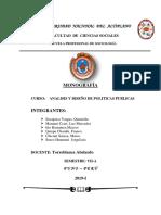 Caratula Politicas Publicas ...