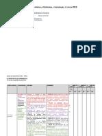 Esquema Programación Anual DPCC 2019