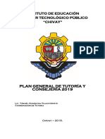 Plan General de Tutoria 2019