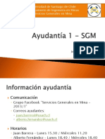 Ayudantía 1 - SGM 1-2013