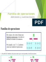 Familia de Operaciones