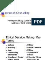EthicsPowerpointAUT. StudyGuideInitialChapters