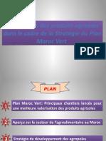 Valorisation Des Produits Agricoles Et PMV