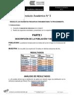 ESTADISTICA INFERENCIAL PA3