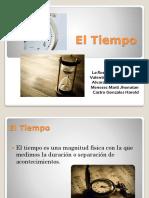 El Tiempo - Diapositiva