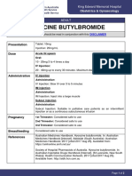 Hyoscine Butylbromide