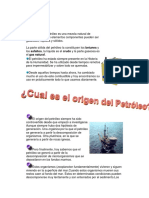 Folleto Origen y Geologia Del Petroleo