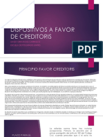 A Favor Creditoris