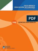 Ciencias Naturales Secundaria Ciclo Básico (1)