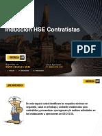 Inducción HSE Contratistas 2018