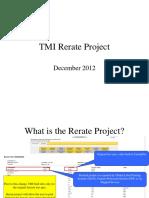 TMI Rerate Project