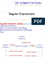 Unit II Regular Expression