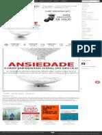 Baixar Livro Ansiedade – Como Enfrentar o Mal Do Século – Augusto Cury Em PDF, EPub, Mobi Ou Ler Online _ Le Livros