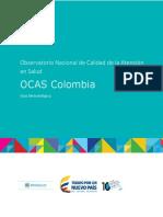 Guia Metodologica Observatorio Calidad OCAS