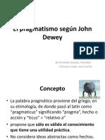 El pragmatismo de Jonh Dewey