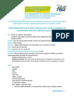 INSTRUCTIVO Para Mamás Guias y Consagradas. Informacion Objetivos Roles y Sentidos de Las Actividades