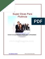 eBook Super Dicas Para Fluencia