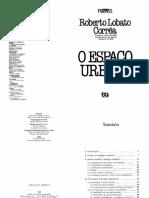 CORRÊA, R. L. O Espaço Urbano