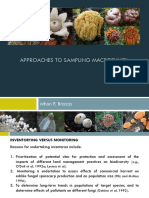 Approaches to Sampling Macrofungi