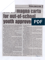 Peoples Journal, Jaune 3, 2019, Bill on magna carta for out-of-school youth approved.pdf