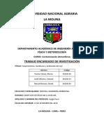 Caracteristicas, Monitoreo y Evaluación de H2S (MITAD)
