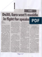 Philippine Daily Inquirer, June 3, 2019, Du30, Sara wont meddle in fight ofr speakership.pdf