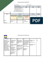 Planificacion 1º Unidad Lenguaje 8º