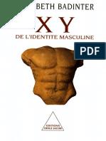Élisabeth Badinter-X Y, De l'Identité Masculine -Odile Jacob (1992)