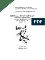 Festival Folclor Mugurasi de Primavara 2019