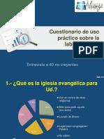 Cuestionario de uso práctico sobre la labor pastoral.