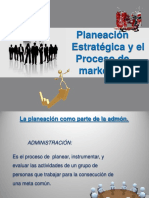 CAP.2 Planeación Estratégica y El Proceso de Marketing