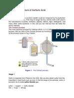 Manufactor Acid Sulfuric