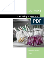 eu-mind intership interview
