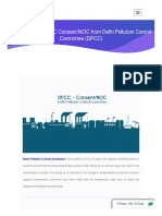 How to obtain DPCC Consent/NOC from Delhi Pollution Control Committee