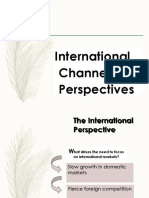 International Channel Perspective