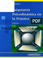 Psiquiatria Psicodinamica en La Practica Clinica