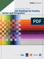Global Diversity Rankings 2012