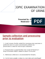 Microscopic Examination of Urine