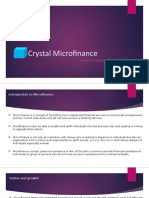 crystal microfinance project