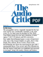 The Audio Critic 18 r