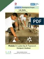 PH Module 3 Leadership Teamwork