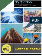 CE 123 Company Profile Pub